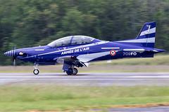13 / French Air Force / Pilatus PC-21 (Charles Cunliffe) Tags: canon7dmkii aviation montdemarsanairbase lfbm frenchairforce faf arméedelair pilatuspc21 13