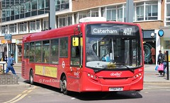 Abellio 8841 (YY64YJZ). (Fred Dean Jnr) Tags: london august2019 uk england londonbus bus abellio abelliolondon alexander dennis adl enviro200 croydon parklanecroydon sophiekinsella 8841 yy64yjz route407 caterham