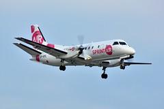 (ORY) Sprint Air  SAAB 340A  SP-KPL Landing runway 24 from Limoges (dadie92) Tags: ory orly lfpo saab sprintair 340a spkpl spotting landing runway24 aircraft airplane nikon tamron sigma d7100 danieldanel
