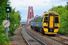 158740 @ Dalmeny (A J transport) Tags: class158 diesel dmu 158740 scotland scotrail saltirelivery forthbridge railway trains train track nikkon d5300 dlsr dalmeny express