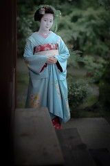 Maiko_20190630_121_2 (Maiko & Geiko) Tags: 20190630 kouunji temple kanohisa kyoto maiko 舞妓 光雲寺 叶久 京都 叶家 kanoya ksumika