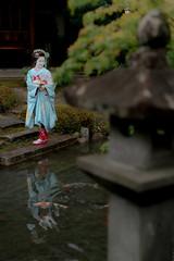 Maiko_20190630_121_6 (Maiko & Geiko) Tags: 20190630 kouunji temple kanohisa kyoto maiko 舞妓 光雲寺 叶久 京都 叶家 kanoya ksumika