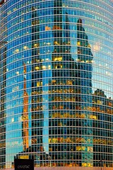 _MG_0991 (Mikhail Lukyanov) Tags: russia moscow building office windows glass reflection blue