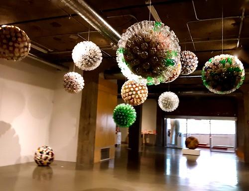 """""""Bottle Balls,"""" by Bart Vargas, Kaneko"""