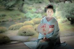 Maiko_20190630_121_21 (Maiko & Geiko) Tags: 20190630 kouunji temple kanohisa kyoto maiko 舞妓 光雲寺 叶久 京都 叶家 kanoya ksumika