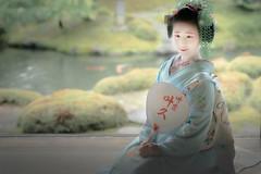 Maiko_20190630_121_8 (Maiko & Geiko) Tags: 20190630 kouunji temple kanohisa kyoto maiko 舞妓 光雲寺 叶久 京都 叶家 kanoya ksumika