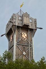 Castle tower (radargeek) Tags: tulsa ok oklahoma thegatheringplace playground park castle adventureplayground tower