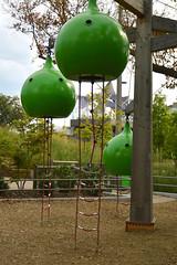 Pod village (radargeek) Tags: tulsa ok oklahoma thegatheringplace playground park adventureplayground