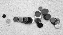 Circular Objex (Robert Cowlishaw (Mertonian)) Tags: mertonian robertcowlishaw canonpowershotg1xmarkiii canon powershot g1x mark iii bypl backyardphotolab bw blackandwhite texture glass cement concrete objex
