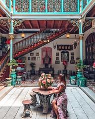 Con tim lạc nhịp tại ngôi nhà cổ Pinang Peranakan ở Malaysia (quynhchi19102016) Tags: ve may bay gia re di penang