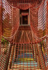 Rope net (radargeek) Tags: tulsa ok oklahoma thegatheringplace playground park ropes castle adventureplayground