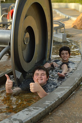 A thumbs up to the park (radargeek) Tags: tulsa ok oklahoma thegatheringplace playground park water sensorygarden