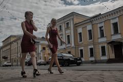 Girls in red (Staropramen1969) Tags: girls beauty street tver russia filles beauté rue russie дівчата краса вулиця тверь росія mädchen schönheit strase twer russland
