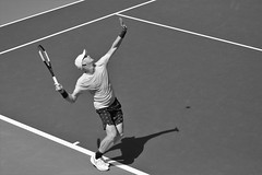 norland d. cruz photography: the serve (brit kyle edmund during first practice day at the 2019 us open) in black and white (norlandcruz74) Tags: kyle british brit edmund tour atp mens singles summer sports sport britain great august player tennis tournament event usopen grandslam 2019 speed lens high nikon photographer zoom gear iso telephoto american shutter filipino nikkor dslr 70300mm dx shutterbug telefoto d7200 cruz pinoy norland fast motion action ny newyork meadows queens flushing nike shadow theserve onserve