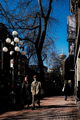 Shadow Street (Photo Alan) Tags: vancouver canada sky bluesky gastown street streetphotography people shadow shadowcity city cityofvancouver