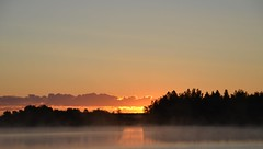 Sommar morgon. (johnerlandaxelsson@gmail.com) Tags: gimo uppland sverige morgon landskap natur johnaxelsson omanipulerad