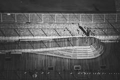 Dream leader in Yokohama (JIMI_lin) Tags: silencecorner japan yokohama 横浜 橫濱 神奈川県 神奈川縣 kanagawa 關內 kannai 橫濱港 横浜みなとみらい21 橫濱港未來21 sakuragicho 桜木町 大岡川 横浜桜木町ワシントンホテル washingtonhotel bw 黑白