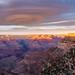 A halo cloud over the Grand Canyon - Arizona