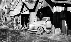 Rustic and Rural (VeraCruza) Tags: netherfeild bw nb secondlife landscape rural old rustic virtualworld