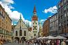 my busy million village (werner boehm *) Tags: wernerboehm munich cityscape altesrathaus architecture marienplatz