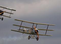 2019_08_0147 (petermit2) Tags: fokkerdr1triplane fokkerdr1 fokker dr1 triplane sopwithtriplanen500 sopwithtriplane sopwithn500 sopwith n500 poppy bremont dogfight greatwardisplayteam eastkirkbyairshow2019 eastkirkbyairshow eastkirkby airshow spilsby lincolnshire