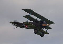2019_08_0148 (petermit2) Tags: fokkerdr1triplane fokkerdr1 fokker dr1 triplane greatwardisplayteam eastkirkbyairshow2019 eastkirkbyairshow eastkirkby airshow spilsby lincolnshire