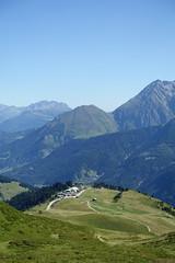 Upper station @ Télécabine du Signal @ Hike to Col de la Fenêtre & Lacs Jovet