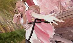 Come with me! (Yukiterudiary) Tags: {buing} saeko arcade event gacha rare cute kawaii sakura genus maitreya bento sl secondlife