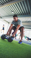 Weightlifting session (Pavigym Int) Tags: weightlifting kettlebells weighttrainingflooring wexo