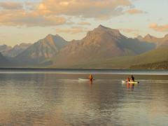 Lake McDonald, Glacier NP (alanrharris53) Tags: usa wyoming lake water pond pool mcdonald glacier canoe boat paddle