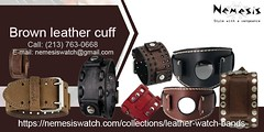 Brown-leather-cuff (procare.benefit) Tags: brown leather cuff