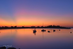 Sunrise (RayTheriault) Tags: sunrise sea seacoast slowshutter nikon nikond810 newhampshire nature 50 60 70 24120 nikon24120 boats harbor