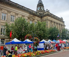 Stalls at Bolton Food Festival 2019 (Tony Worrall) Tags: boltonfoodfestival bolton boltonfoodfest foodie eat streetfood nw northwest north update place location uk england visit area attraction open stream tour country item greatbritain britain english british gb capture buy stock sell sale outside outdoors caught photo shoot shot picture captured ilobsterit instragram stall townhall alberthalls architecture building