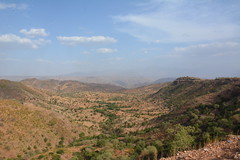 A landscape view of Asgede Tsimbla Woreda in Tigray region. Photo May Muthuri
