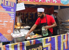 Kebab stall at Bolton Food Festival 2019 (Tony Worrall) Tags: boltonfoodfestival bolton boltonfoodfest foodie eat streetfood nw northwest north update place location uk england visit area attraction open stream tour country item greatbritain britain english british gb capture buy stock sell sale outside outdoors caught photo shoot shot picture captured ilobsterit instragram stall kebab asian turkish man cooking