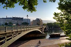Sully bridge (hbensliman.free.fr) Tags: paris travel architecture city france seine river bicycle pentax pentaxart pentaxk1