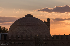 Dawn of a new day (Irina1010) Tags: sunrise dawn sky light colors dome building hotelyasmina ergchebbi sahara desert morocco canon coth5