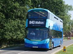 Transdev Yorkshire Coastliner 3638 - BT66 MVX (Hullian111) Tags: transdev yorkshire coastliner 3638 bt66mvx bt66 mxv wrightbus b5tl streetdeck 840