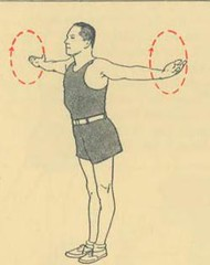 This image is taken from Keeping fit through exercise (Medical Heritage Library, Inc.) Tags: metropolitan life insurance company public health canada ephemera exercise popular works physical fitness mcgill university library digitized title mcgilluniversityosler mcgilluniversity medicalheritagelibrary toronto date1925 idmcgilllibrary108848425