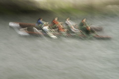 Currach Race I (annemcgr) Tags: currach race dingle 2019 rowing rowboat competition slow slowmotion blur icm intentionalcameramovement