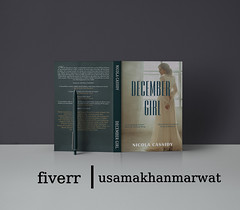 Book Cover | December girl | fiverr (usamakhanmarwat7) Tags: bookcovers ai designs travelbook bookcoverdesigns book decembergirl girl