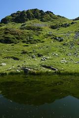Pond @ Hike to Col de la Fenêtre & Lacs Jovet