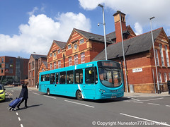 CX12DSZ 3143 Arriva Buses Wales in Chester (Nuneaton777 Bus Photos) Tags: arriva buses wales wright pulsar cx12dsz 3143 chester