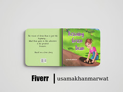 Kids Book Cover | fiverr (usamakhanmarwat7) Tags: bookcovers ai designs travelbook bookcoverdesigns book kidsbookdesign