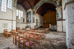 La messe est dite (R.Daco) Tags: église church religion christ explo urbex abandonné abandoned jesus decay amen religieux explorationurbaine exploration urbaine urbanexploration lost forbidden places forbiddenplaces forgotten forgottenplace