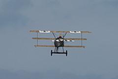 2019_08_0226 (petermit2) Tags: fokkerdr1triplane fokkerdr1 fokker dr1 triplane greatwardisplayteam eastkirkbyairshow2019 eastkirkbyairshow eastkirkby airshow spilsby lincolnshire
