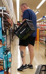 August 27, 2019 (3) (gaymay) Tags: california desert gay love palmsprings riversidecounty coachellavalley sonorandesert groceries shopping tat tattoo basket shoppingbasket