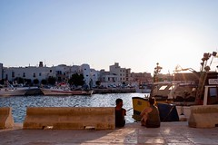 (AleColamonici) Tags: harbor traveller travelling travel trip holiday sunset afternoon summer couple loving lovers love salento puglia bari monopoli
