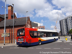 SN65OEP 27295 Stagecoach Merseyside and South Lancashire in Chester (Nuneaton777 Bus Photos) Tags: stagecoach merseysideandsouthlancashire adl enviro 300 sn65oep 27295 chester