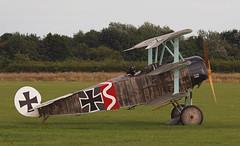 2019_08_0520 (petermit2) Tags: fokkerdr1triplane fokkerdr1 fokker dr1 triplane greatwardisplayteam eastkirkbyairshow2019 eastkirkbyairshow eastkirkby airshow spilsby lincolnshire